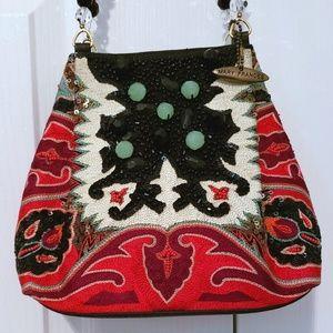 Mary Frances Enchanted Evening Hand Bag BNWT